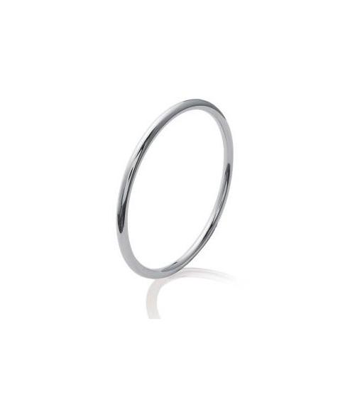 Bracelet jonc en acier (66 mm)