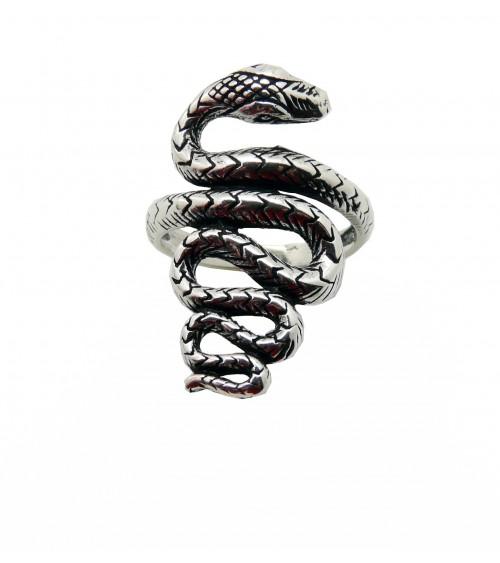 """Bague """"serpent"""" en argent 925/1000"""