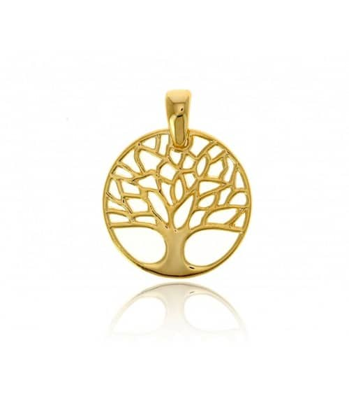 """Pendentif  seul """"arbre de vie"""" en plaqué or (voir chaine vendue séparément)"""