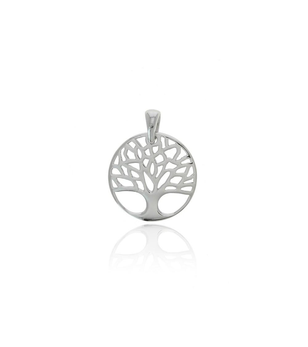 """Pendentif """"arbre de vie"""" en argent 925/1000 rhodié (voir chaîne vendue séparément)"""