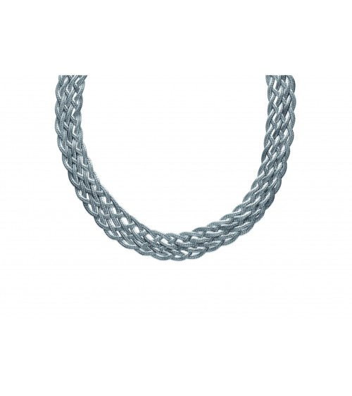 Collier en acier , longueur 45cm , ajustable